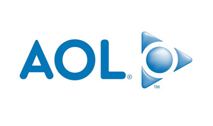 old aol logo