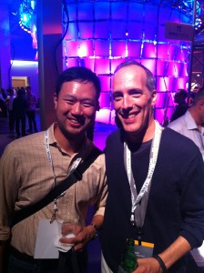Peter kim and Steve Garfield love social media