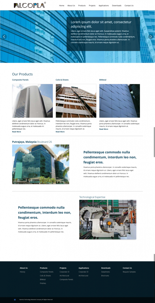 alcopla home page